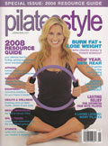 Pilates Style Magazine Cover JanFeb2008